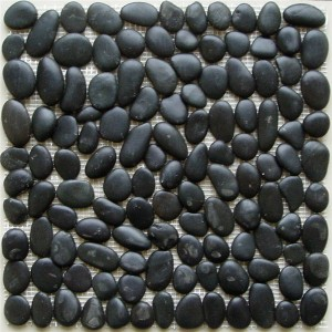 CM551  Pebbles  Polished Black Pebble