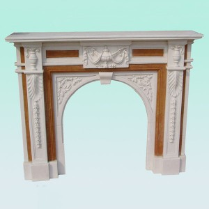 CF003 Victorian English fireplace