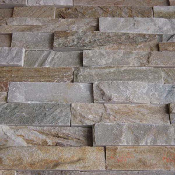 Wholesale Discount Limestone Lump - CW733 YelloW Cleft Rough Stacked Stone – ConfidenceStone Featured Image