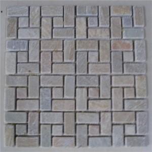 Factory For Types Of Interlocking Stone - CM629 Slate Tumbled 49×49 – ConfidenceStone