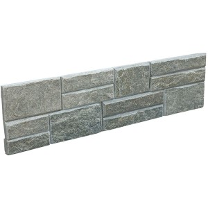 CW839 Green Flat Stacked Stone