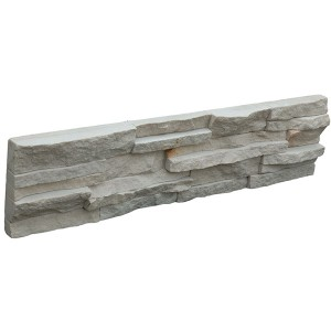 CW820Rough Grey Mica Stacked Stone