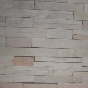 CW739 Grey Cleft Stacked Stone
