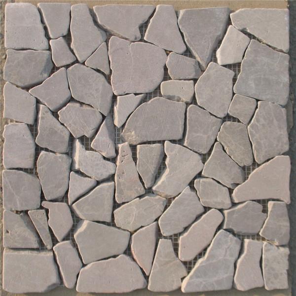 Online Exporter Water Plant Pots - CM533 Marble Random Mosaic – ConfidenceStone