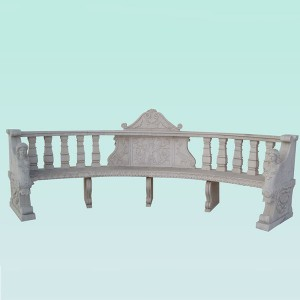 Best quality Water Feature - CC309 White Marble Garden Chair – ConfidenceStone