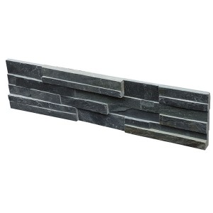 CW807 Black Cleft Rough Stone