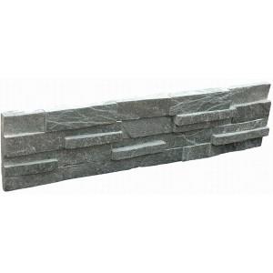 Factory source Culture Slate Panels - CW829 Black Quartz3d Stacked Stone – ConfidenceStone