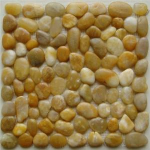 CM557 Pebbles Pulido Seixo Amarelo