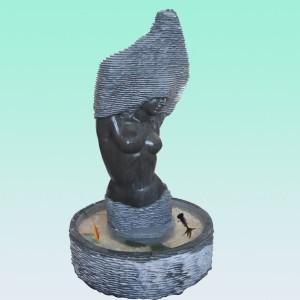 CC212 Limestone Bust Fountain