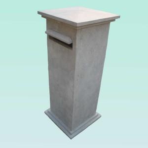 Factory Cheap Hot Rusty Slate Curb Stone - CL012 BLUE LIMESTONE MAILBOX – ConfidenceStone