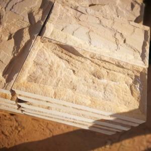 SY004 Yellow Sandstone Mushroom