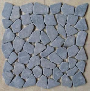 CL010 Blue Limestone Random Mosaic