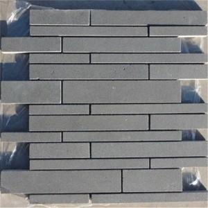 CM513  Mosaic  Ash Basalt Random I/L Sticks (Pack of 4) 305x350x10