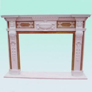 CF002 Victorian English fireplace