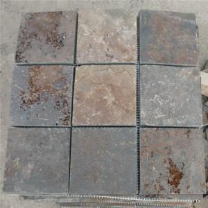 CM512  Mosaic  Cottage Ashlar Sq Mesh (Pack of 4) 305x305x10