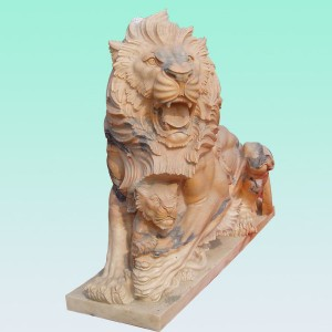 Low MOQ for Marble Made Hand Carved - CC246 Marble Lion Sculpture – ConfidenceStone