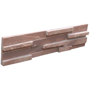 CW815 Red Sandstone 3d Stacked Stone