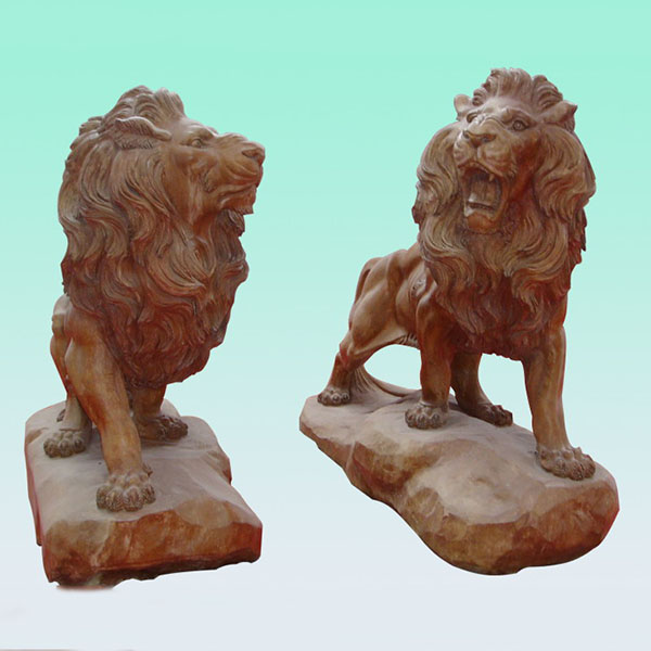 factory Outlets for Slate Tiles For Wall - CC239 Marble Lion Sculpture – ConfidenceStone